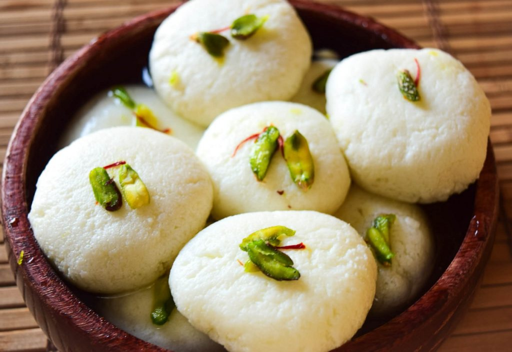 Indian Desserts Dipped In Sugar Syrup