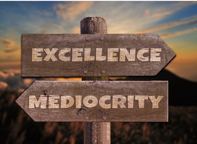 Mediocrity is a State of Mind: Myth or Truth?