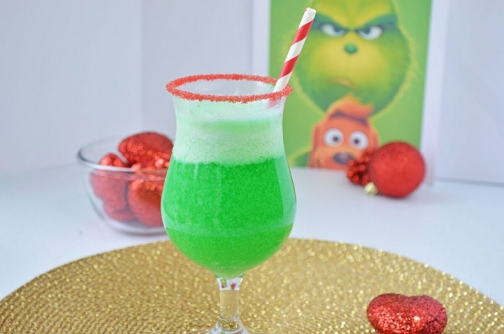 Grinch lime punch