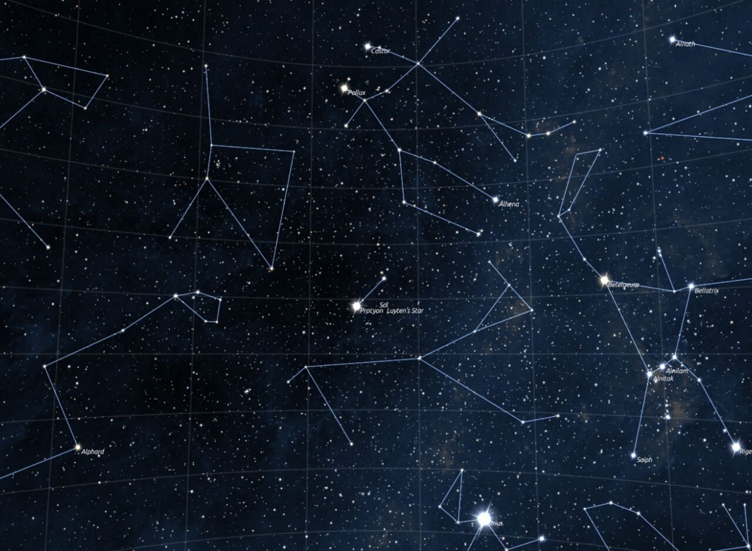 Window To The Tales Behind Constellations