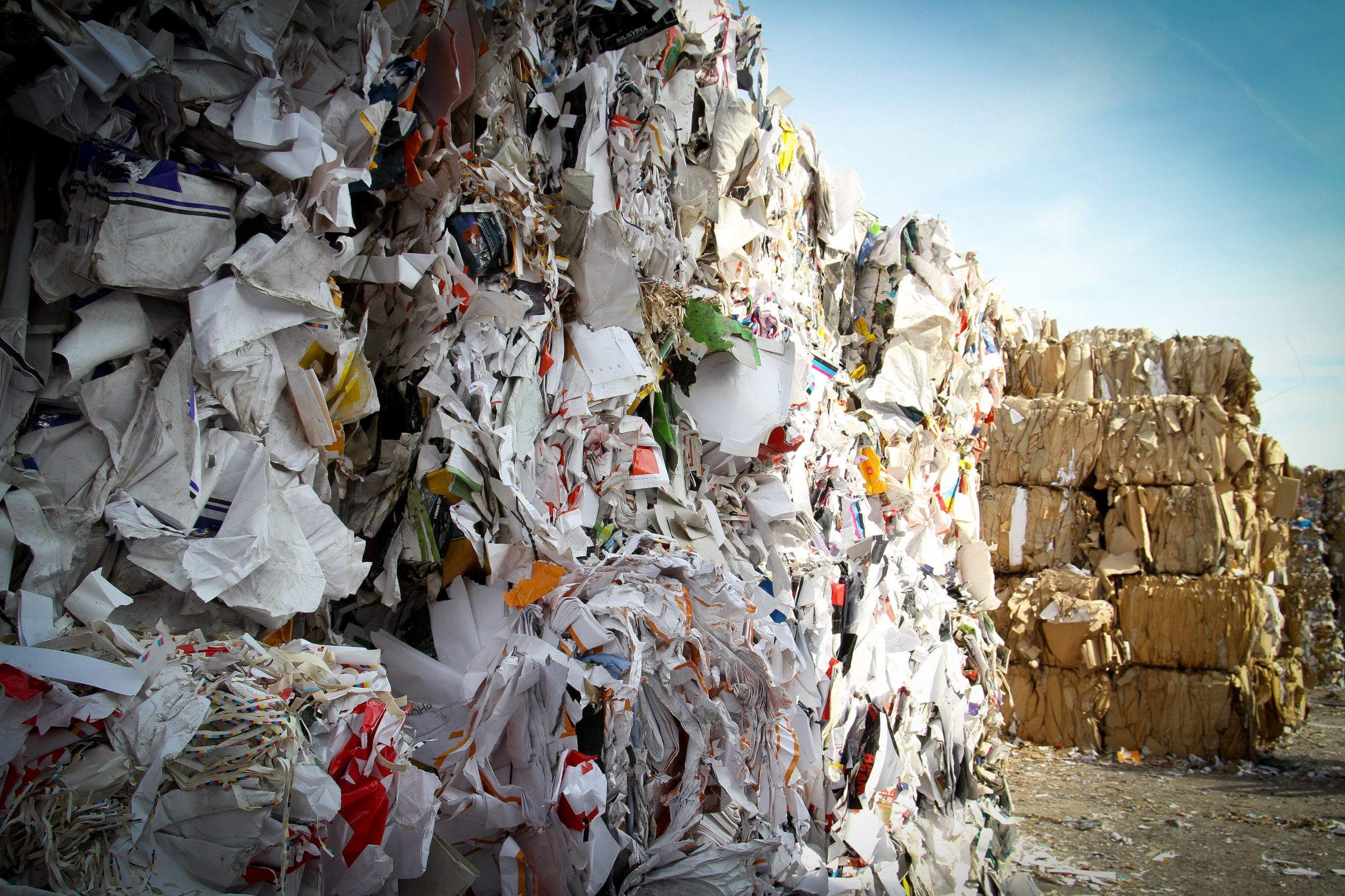 Countries that have poor waste management export their waste