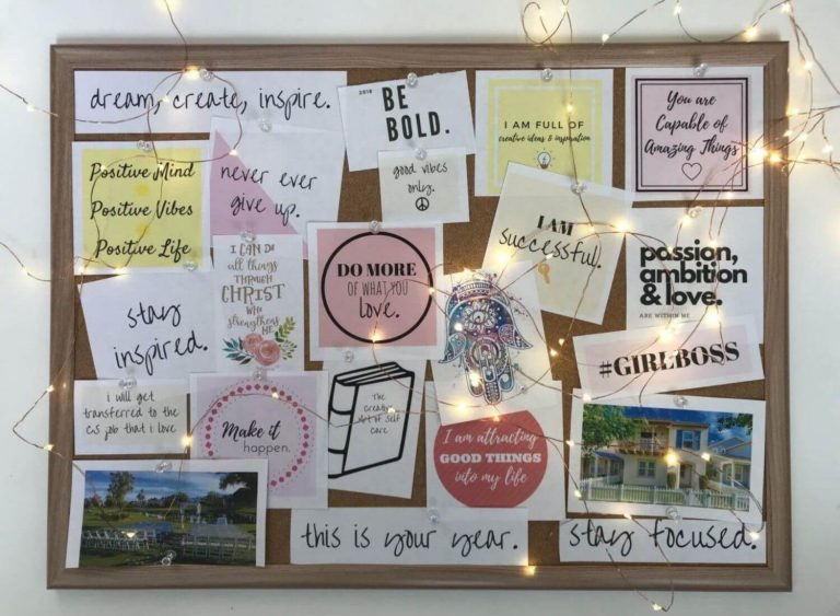 5 Benefits Of Having Your Own Vision Board