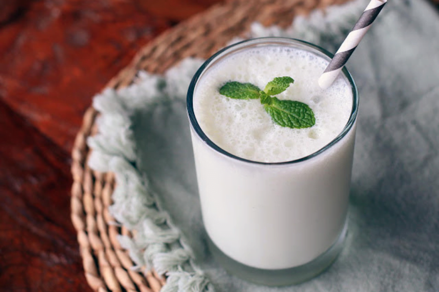 Lassi is a healthy drink.