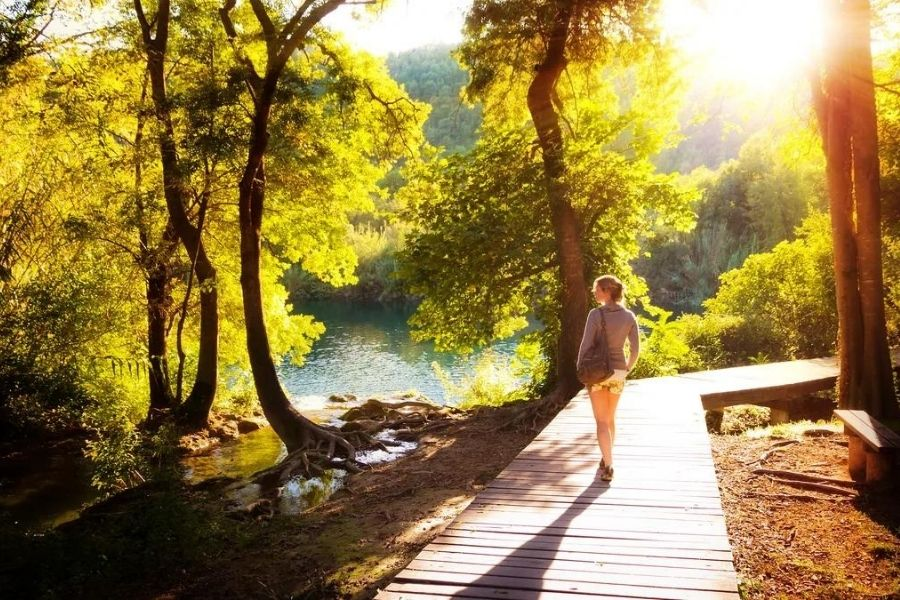 Take a walk to feel better in under 12 seconds.